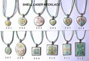 Shell Laser Necklace