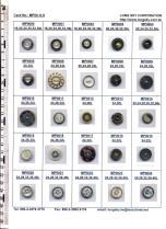 Polyester/Brass Buttons