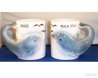 Dolomite Mug--Happy Dolphin Design