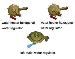 Vaschetta dell'acqua del riscaldatore di acqua del gas