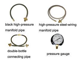 Tubo di collegamento/tubo/manometro molteplici