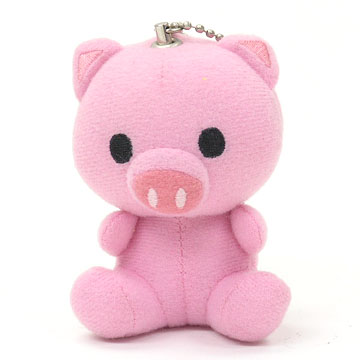 Piggy Stuffed Doll Personal Alarm