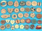 Деревянные кнопки
