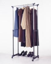 新しい二重衣服の棚