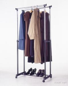 New Double Garment Rack
