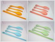 Biodegradable/ Compostable PLA Utensils (Round)
