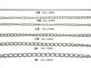Stainless Steel Twist Link Chain