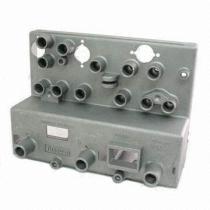 アルミニウムから成っているダイカストで形造られたGPSの受信機の部品