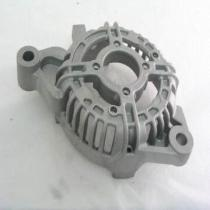 RoHS-compliant Aluminum Die-casted Motorcycle Engine Parts in Central Vacuum Die-casting System