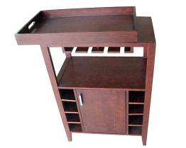 Het houten Kabinet van de Wijn