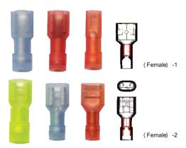 Nylon-Fully Insulated Coupler With Copper Sleeve(Double-Crimping & Easy Entry Product )(Female)
