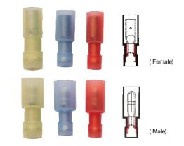 Nylon-Fully Insulated Bullet Terminals