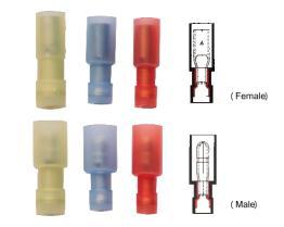 Pallottola isolata Nylon-Pieno Terminals-2