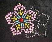 Hierro-en el adorno de aluminio de Nailhead en diseño de la flor