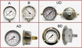 Stainless Steel Case Pressure Gauge