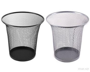 Metal Mesh Trash Cans