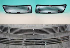 W221 Engine Hood Win Outer Chrome Pad