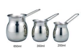 Stainless Steel Coffee & Milk Jar