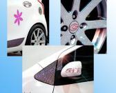 Het Embleem van de auto (de Diamant van het Kristal)