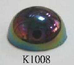 Semicircle (Flat Back) Acrylic Stone