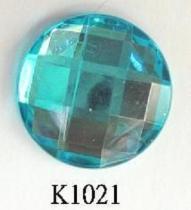 Round (Flat Back) Acrylic Stone