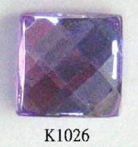 Square (Flat Back) Acrylic Stone