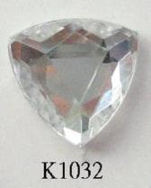 Triangle (Flat Back) Acrylic Stone