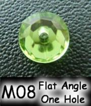 Flat Angle One Hole (Flat Back) Acrylic Stone