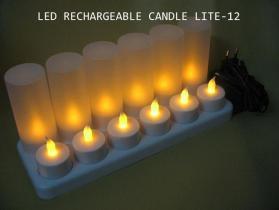 Candela ricaricabile Lite del LED