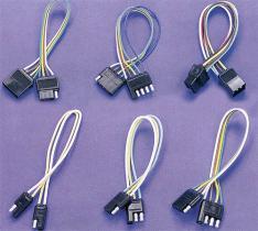 Flacher geformter Inline-Stecker, Einfaßung