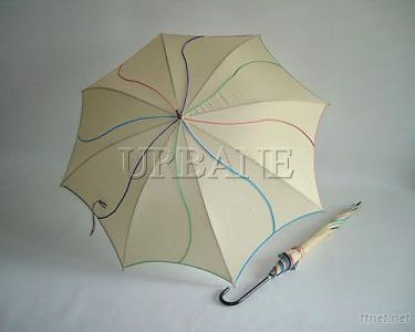 Colorful and Elegant Long Umbrella with Pop-up Mechanics