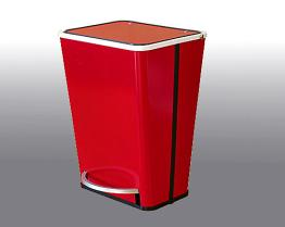 Pedal Trash Bin RED