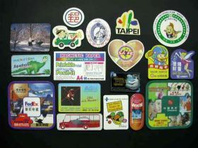 Het Magnetische Collectieve Handelsmerk van het embleem en Gemachtigde Emblemen