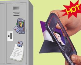 Strutture di pubblicità magnetiche della foto del PICCHIETTIO