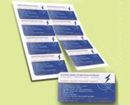 Магнитные визитные карточки