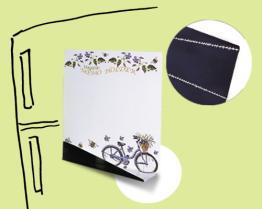 Immagazzinaggio di pubblicità magnetico mini Whiteboards