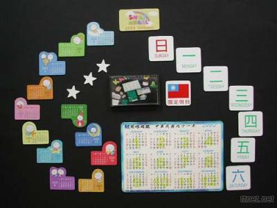 Magnetic Weekly Calendars & Monthly Calendars