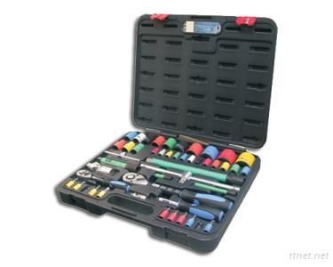 47pcs 1/4 and 1/2 inch Dr. Socket Wrench Set