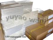 BOPP Clear Cellophane Sheets