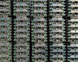 Lingotti di alluminio