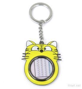 Tiger-shaped Frame Keychain