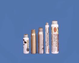 Tubes/bidons en aluminium