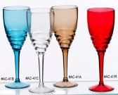 Vetro di vino acrilico