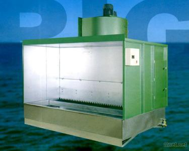 Right Nopump Booth & Right Dust Collector