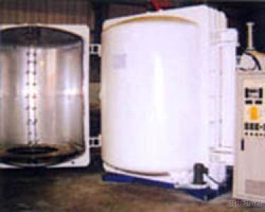 Thermal vacuum dual doors plastic evaporation coater