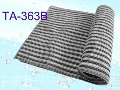 TA-363B Bamboo Charcoal Exfoliating Towel