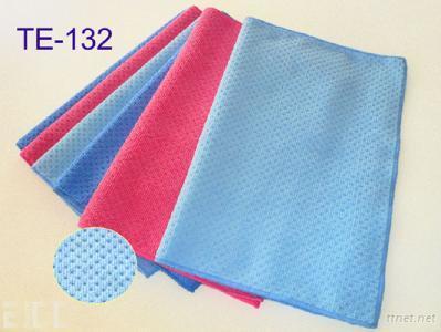 TE-0132 Embossed Dot Microfiber Cloth