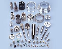 CNC, der Parts-4 maschinell bearbeitet