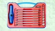 18 PCs de Schroevedraaier van 14-in-1 Combinatie en de Reeks van de Contactdoos
