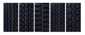 Rubber Precure Tread Tire